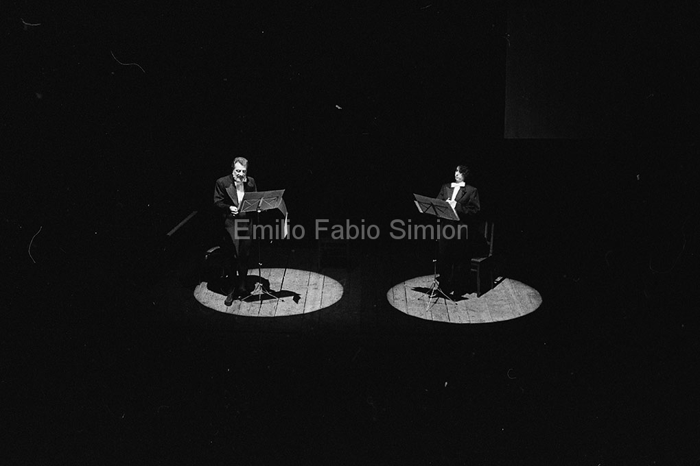 Arrigo Lora Totino e Valeria Magli - Teatro Gerolamo, Milano 1982