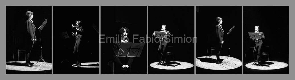 Arrigo Lora Totino & Valeria Magli. Futura Poesia Sonora. Teatro Gerolamo. Milano 1982