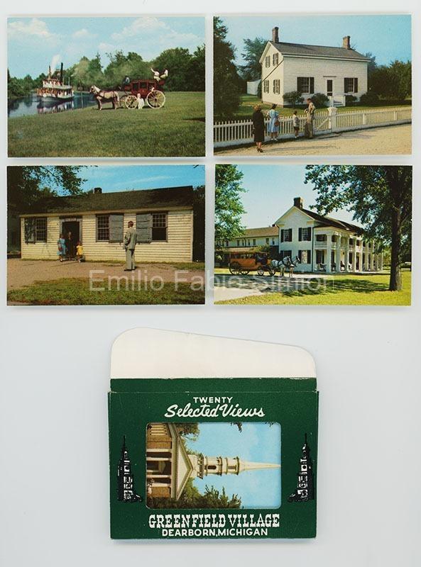 Cartoline d'america anni 1940 - 1950