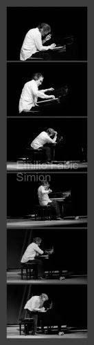 Giuseppe Chiari. Gesti sul Piano. L'orecchio nell'occhio. Teatro di Porta Romana. Milano, 1981