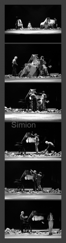 Juan Hidalgo. Tamaran. L'orecchio nell'occhio. Teatro di Porta Romana. Milano, 1981-3