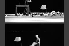 Juan Hidalgo. Tamaran. L'orecchio nell'occhio. Teatro di Porta Romana. Milano, 1981-1