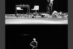 Juan Hidalgo. Tamaran. L'orecchio nell'occhio. Teatro di Porta Romana. Milano, 1981-2