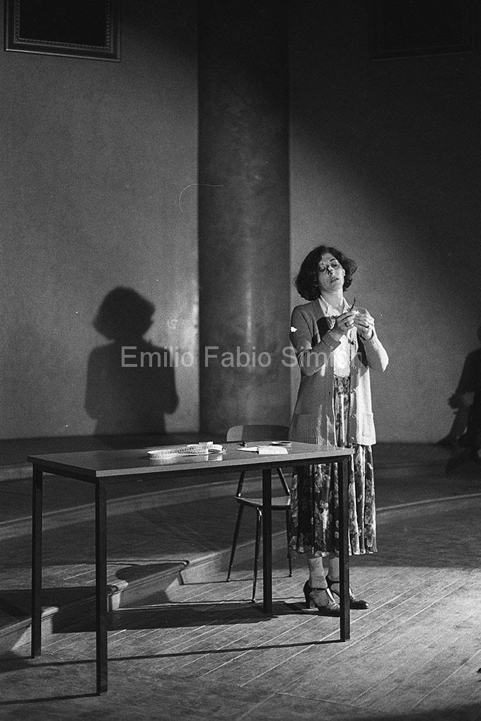 """Concerto Zaj. Intimo e personale. """"Rumore di fondo"""". Pavia 1978"""