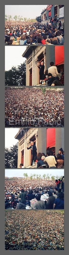 """Dario Fo - """"Mistero Buffo"""" - Palazzina Liberty - Milano, 1974"""