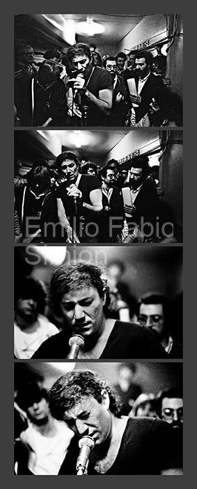 """Demetrio Stratos - """"Il treno. Alla ricerca del silenzio perduto"""" (J. Cage) - Bologna, 1978"""