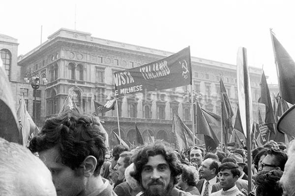 Ferruccio Parri - Milano, manifestazione 1968