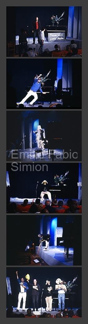 """George Brecht - """"Incidental Music"""" - Performed by Ben Vautier, Geoffrey Hendricks, Al Hansen, Ken Friedman - Milano Poesia, 1989"""