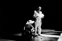 Jean Jacques Lebel & Valeria Magli at Milano poesia, Ansaldo.-2