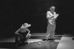 Jean Jacques Lebel & Valeria Magli at Milano poesia, Ansaldo.