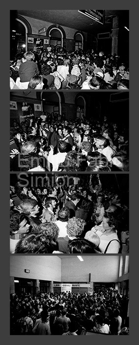 John Cage. Il treno di John Cage. Alla ricerca del silenzio perduto. Stazione centrale di Bologna, 1978
