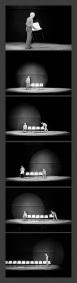 """Juan Hidalgo - """"Non ho idee"""" -  L'orecchio nell'occhio, Teatro di Porta Romana - Milano, 1981"""