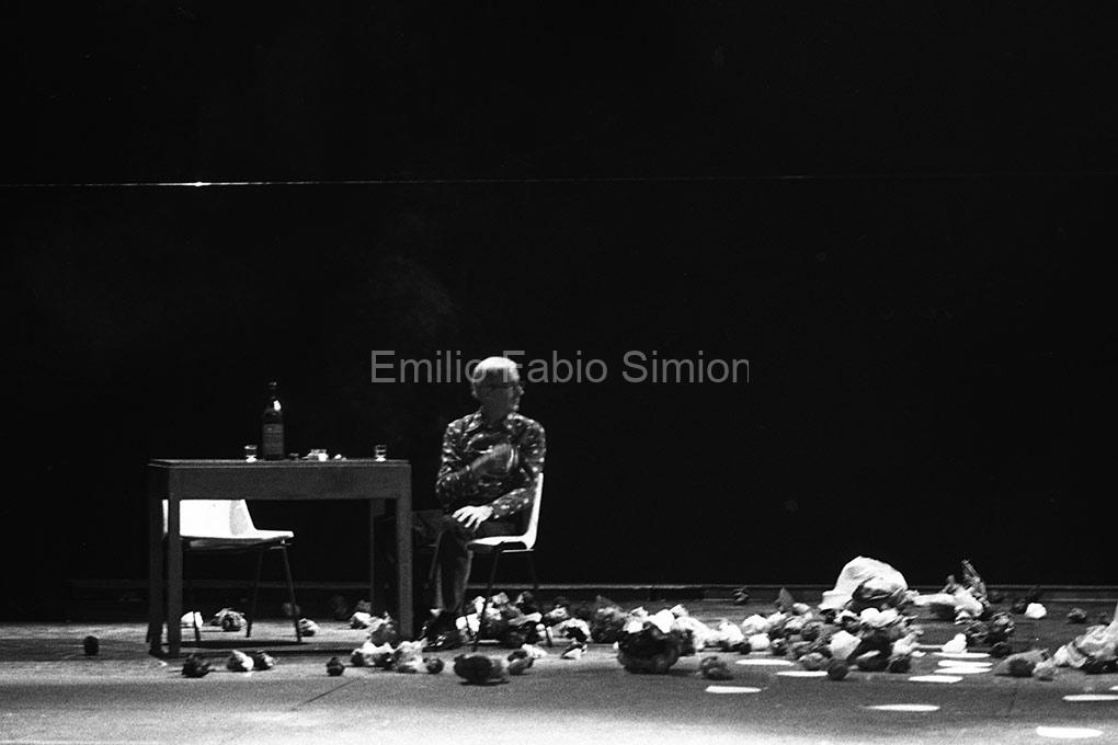 Juan Hidalgo. Tamaran. L'orecchio nell'occhio. Teatro di Porta Romana. Milano, 1981