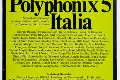 Polyphonix 5 Italia - 1983