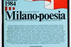 Milano Poesia 1984