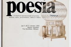 Milano Poesia X Festival - 1992