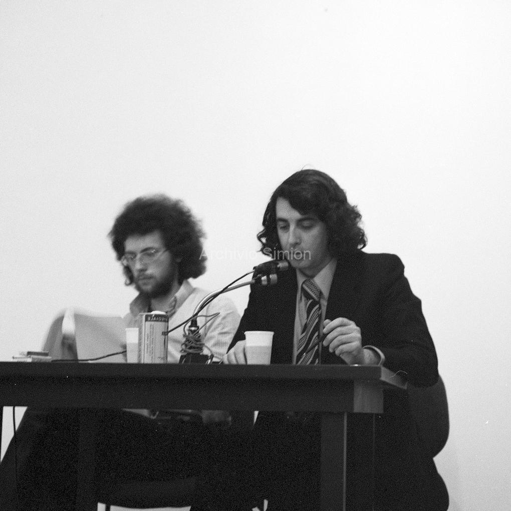 Francesco Schianchi e Gianni Emilio Simonetti