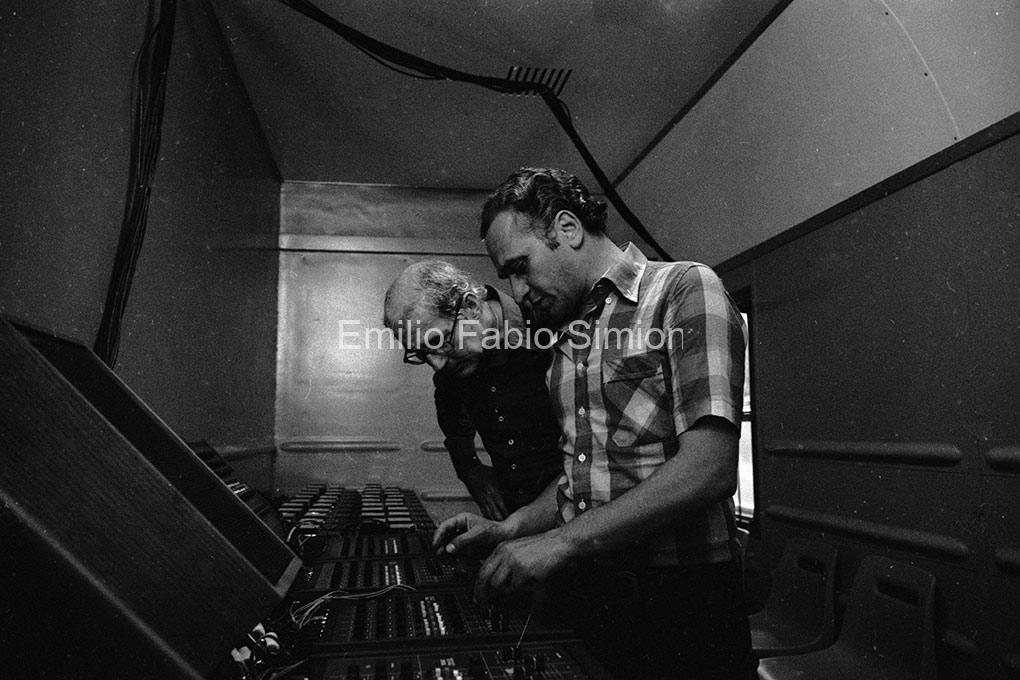 Walter Marchetti & Juan Hidalgo. Il Treno di John Cage, alla ricerca del silenzio perduto. Stazione Centrale di Bologna, 1978